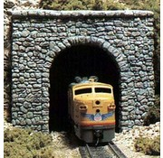 WOO - Woodland Scenics 785- C1255 HO Single Tunnel Portal  Random