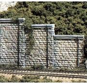 WOO - Woodland Scenics 785- HO Cut Stone Retaining Wall (3)