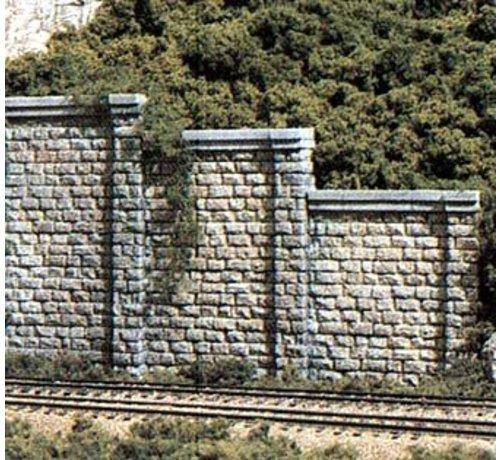 Woodland Scenics (WOO) 785- HO Cut Stone Retaining Wall (3)
