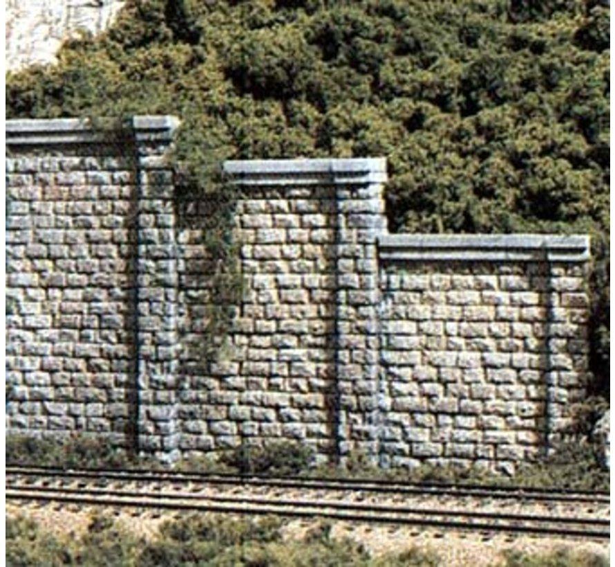 HO Cut Stone Retaining Wall (3)