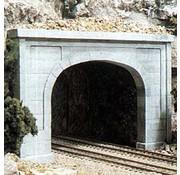 Woodland Scenics (WOO) 785- C1256 HO Dbl Tunnel Portal  Concrete