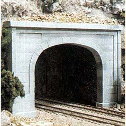 WOO - Woodland Scenics 785- C1256 HO Dbl Tunnel Portal  Concrete