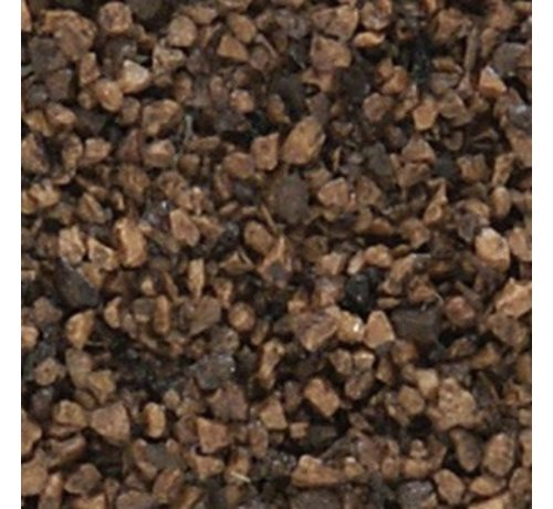 WOO - Woodland Scenics 785- B78 Medium Ballast Bag  DARK BROWN /18ci