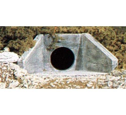 WOO - Woodland Scenics 785- C1162 N Culvert  Concrete 2