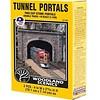 WOO - Woodland Scenics 785- C1157 N-scale Double Tunnel Portal Cut Stone 2