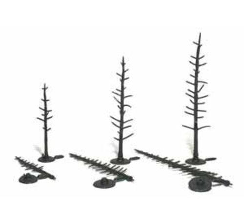 WOO - Woodland Scenics 785- TR1124 Pine Tree Armatures  2-1/2 -4  70