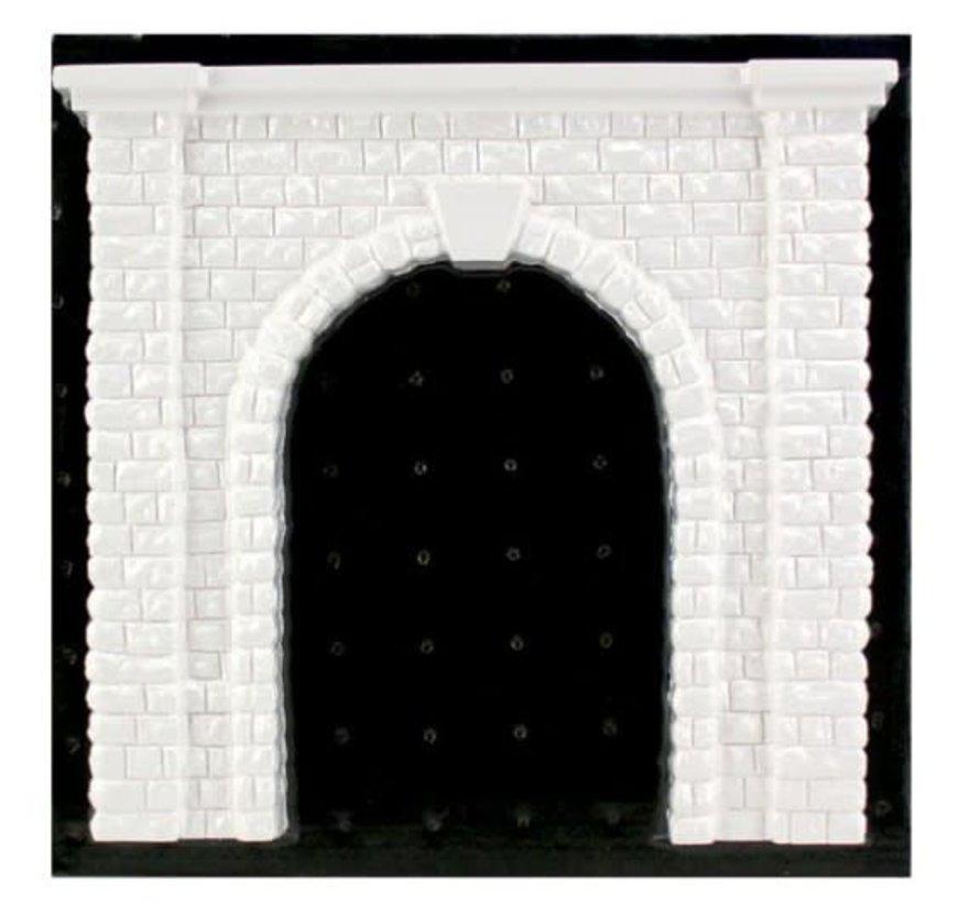 O Tunnel Portal  Cut Stone