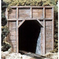 WOO - Woodland Scenics 785- C1154 N Single Tunnel Portal  Timber 2