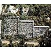 WOO - Woodland Scenics 785- C1161 N Retaining Wall  Random Stone 6