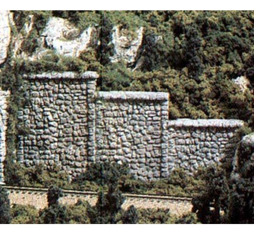 C1161 N Retaining Wall  Random Stone 6