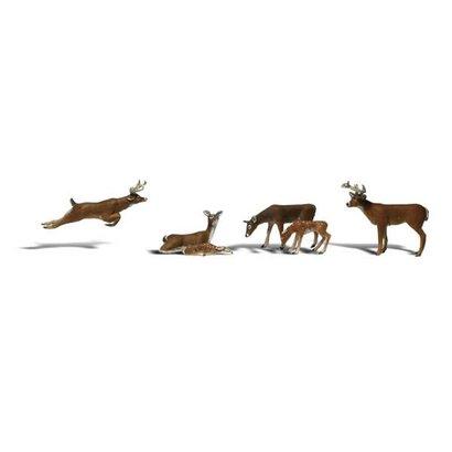 WOO - Woodland Scenics 785- N Scenic Accents Deer (6)