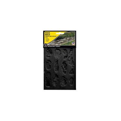 WOO - Woodland Scenics 785- C1246 Rock Mold Creek Bed Rocks