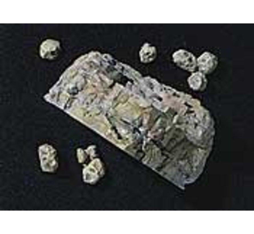 C1236 Rock Mold  Classic Rock