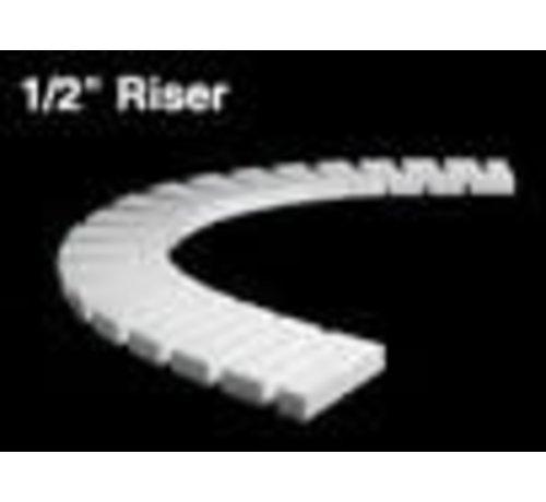 """WOO - Woodland Scenics 785- ST1406 1:2"""" Riser 2' each (4) *"""