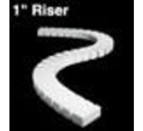 """WOO - Woodland Scenics 785- ST1407 1"""" Riser 2' each (4)"""