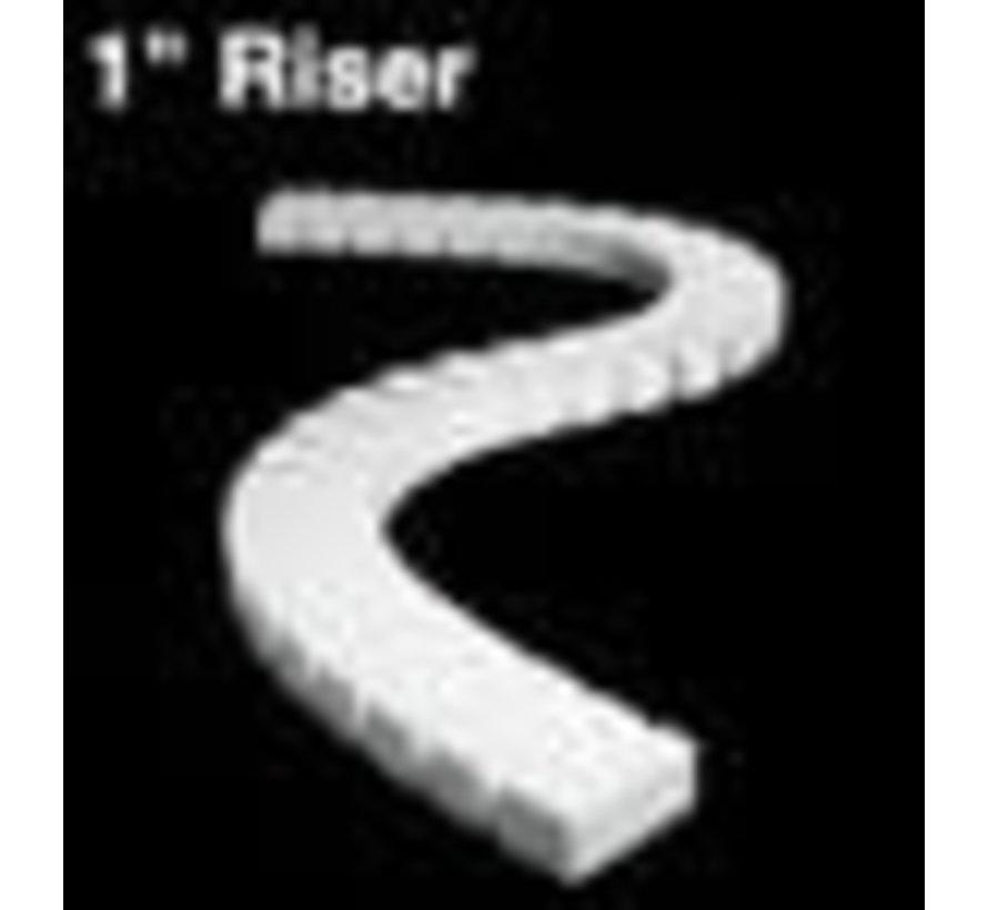 """ST1407 1"""" Riser 2' each (4)"""