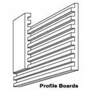 "WOO - Woodland Scenics 785- ST1419 8""x 24"" Profile Boards w/Connectors (2)"