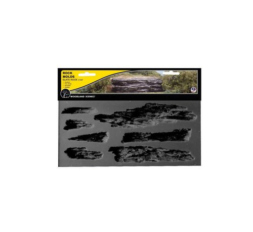 WOO - Woodland Scenics 785- C1247 Rock Mold Shelf Rock
