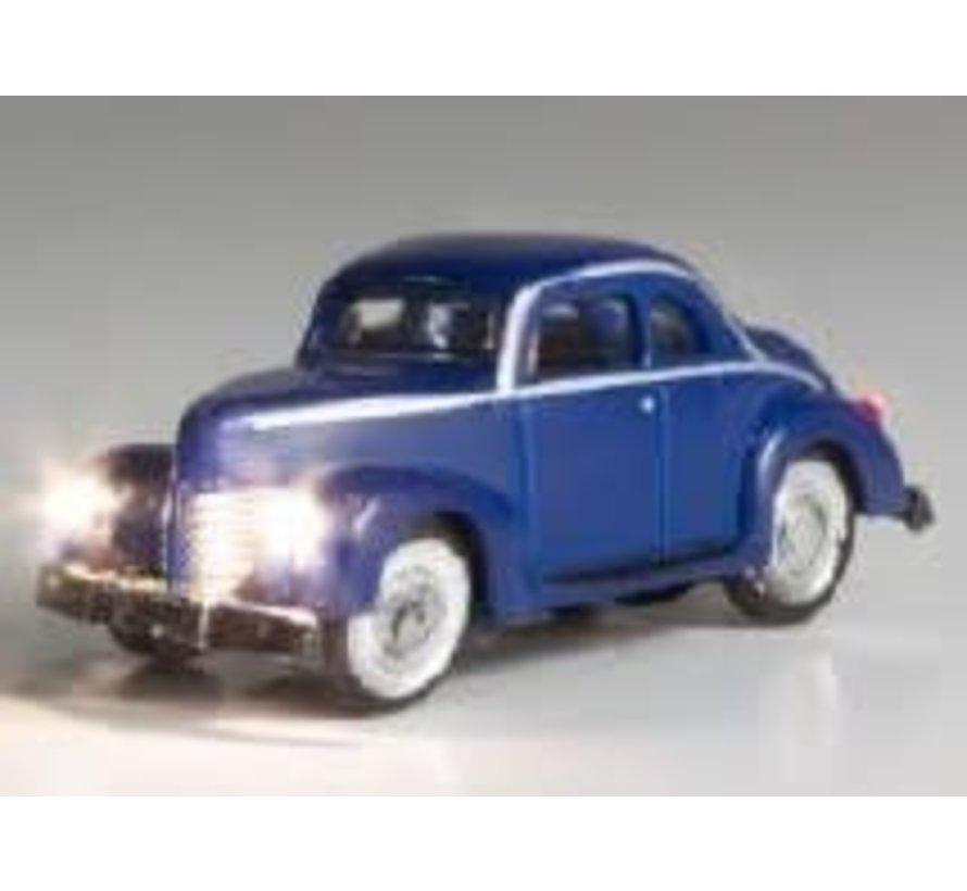 N Just Plug Blue Coupe
