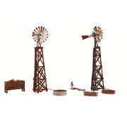 WOO - Woodland Scenics 785- N Pre-Fab Building Windmills (2)