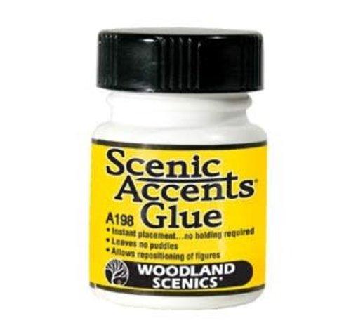 WOO - Woodland Scenics 785- A198 Accent Glue  1.25 oz