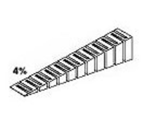 WOO - Woodland Scenics 785- ST1413 Incline 4% Starter 2' each (4)