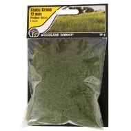 WOO - Woodland Scenics 785- FS626 Static Grass, Medium Green 12mm