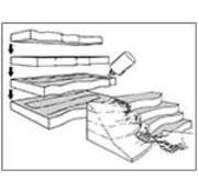 """Woodland Scenics (WOO) 785- ST1425 Foam Sheet 2""""x1'x2"""