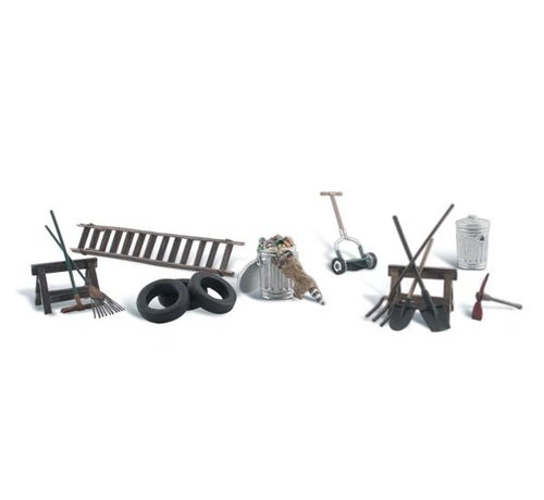 WOO - Woodland Scenics 785- HO Garage Treasures