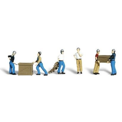 WOO - Woodland Scenics 785- A1823 Dock Workers HO