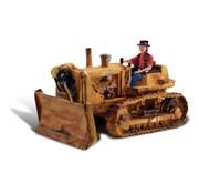 WOO - Woodland Scenics 785- HO Dewie's Dozer w/Figure