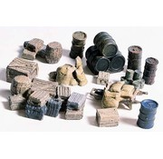 Woodland Scenics (WOO) 785- HO Crates/Barrels/Sacks