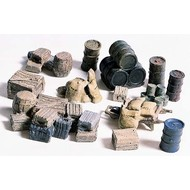 WOO - Woodland Scenics 785- HO Crates/Barrels/Sacks