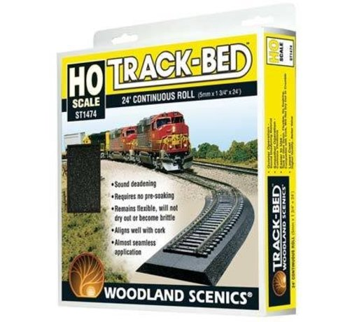 Woodland Scenics (WOO) 785- ST1474 Track Bed Roll 24'  HO Scale