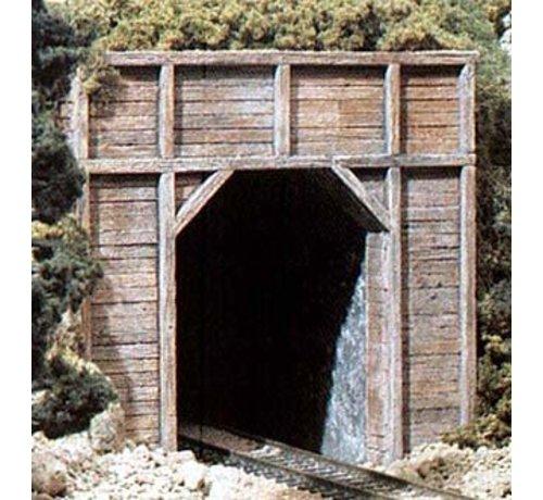 WOO - Woodland Scenics 785- C1254 HO Single Tunnel Portal  Timber