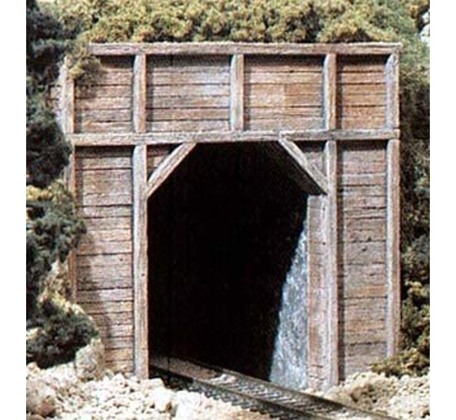 C1254 HO Single Tunnel Portal  Timber