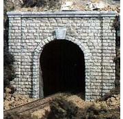 WOO - Woodland Scenics 785- C1253 HO Single Tunnel Portal  Cut Stone
