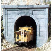 WOO - Woodland Scenics 785- C1252 HO Single Tunnel Portal  Concrete