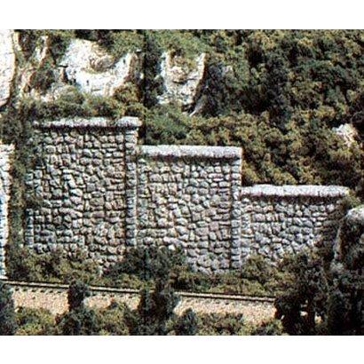 WOO - Woodland Scenics 785- C1261 HO Retaining Wall Random Stn3