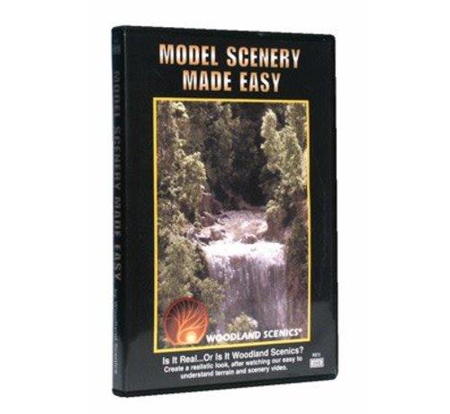 Woodland Scenics (WOO) 785- Model Scenery Made Easy - DVD