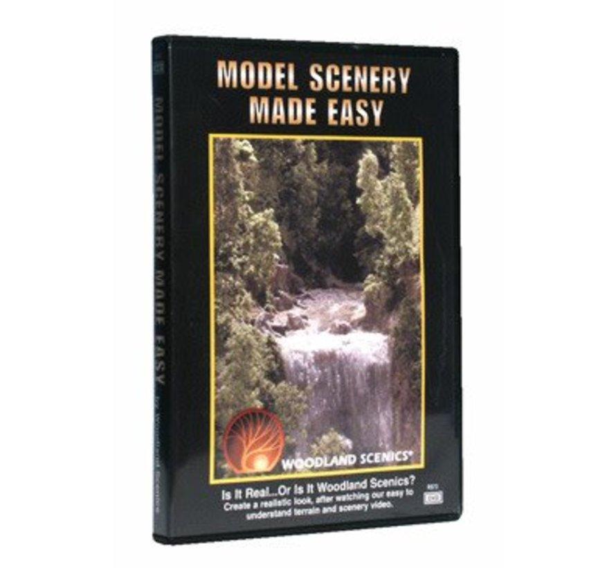 Model Scenery Made Easy - DVD