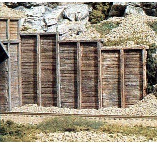 Woodland Scenics (WOO) 785- C1160 N Retaining Wall  Timber 6