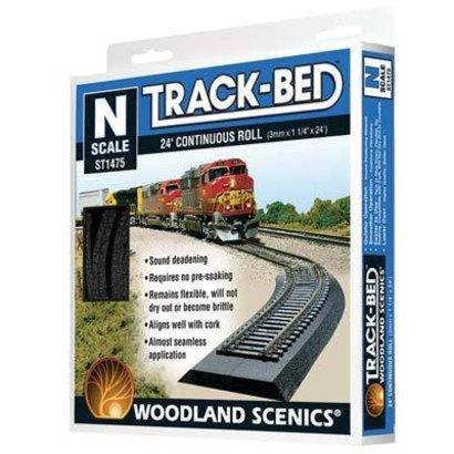 WOO - Woodland Scenics 785- ST1475 N Track-Bed Roll  24