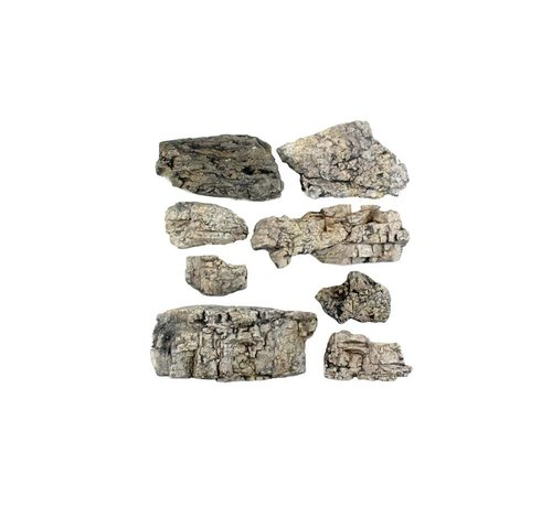 Woodland Scenics (WOO) 785- C1137 Ready Rocks  Faceted Rocks