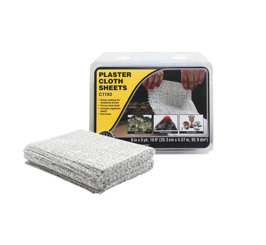 Plaster Cloth Sheets  8x12  30