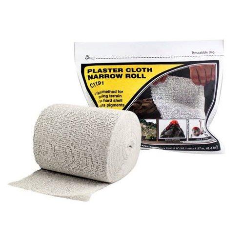 Woodland Scenics (WOO) 785- C1191 Plaster Cloth Narrow Roll 4 x15