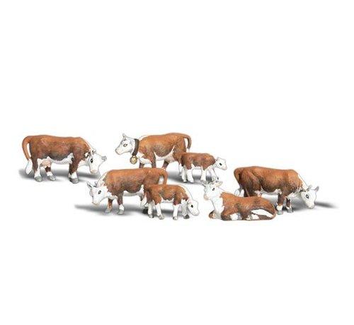 WOO - Woodland Scenics 785- O Hereford Cows