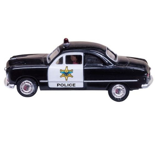 Woodland Scenics (WOO) 785- HO Just Plug Police Car