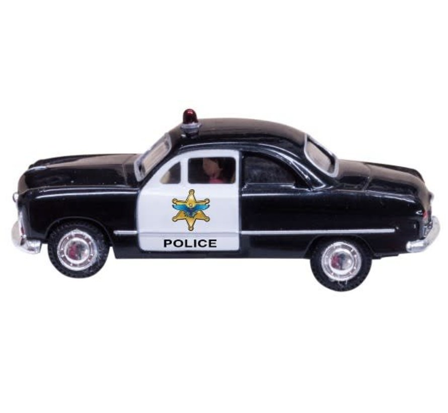 HO Just Plug Police Car