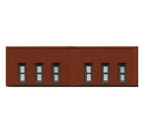 WOO - Woodland Scenics 785- N DPM 1 Story Window Wall 3
